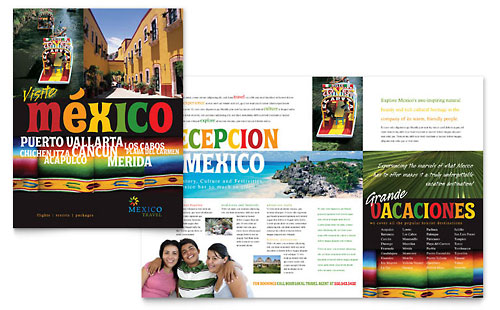 Travel & Tourism Pamphlets | Templates & Designs
