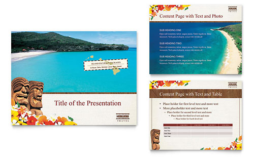 Hawaii Travel Vacation PowerPoint Presentation