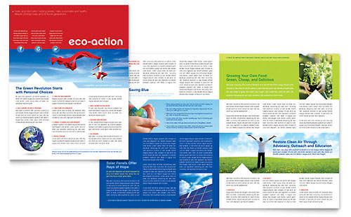 Energy & Environment Newsletters | Templates & Designs