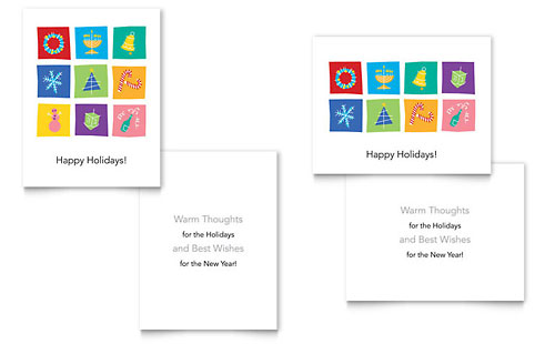 55x85 greeting card templates designs 55x85 greeting cards holiday icons greeting card m4hsunfo