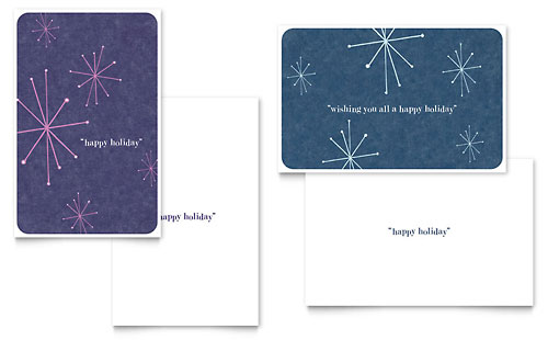 Snowflake Wishes Greeting Card