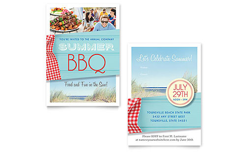 summer bbq invitation casino night invitation template