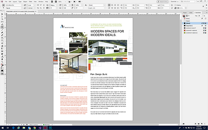 Make a Datasheet in InDesign - Format a Datasheet