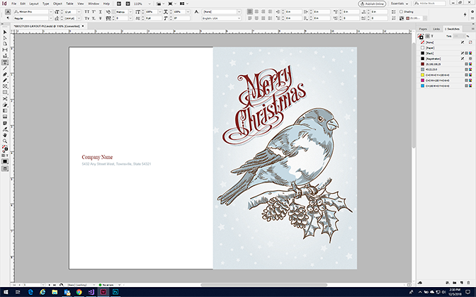 Make a Greeting Card in InDesign with StockLayouts Templates