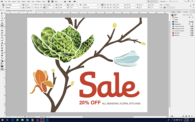 Make a Poster in InDesign with StockLayouts Templates