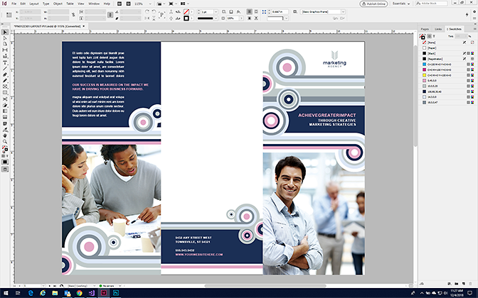 Make a Tri-Fold Brochure in InDesign with StockLayouts Templates