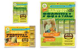 Harvest Festival - Flyer & Ad Design Template
