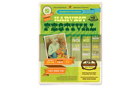 Harvest Festival - Flyer Design Template