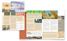 Home Builders & Construction - Newsletter Template