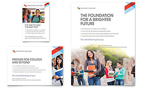 Community College - Flyer & Ad Template