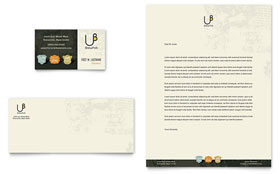 Brewery & Brew Pub - Business Card & Letterhead Design Template