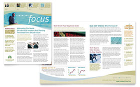 Investment Management - Newsletter Design Template