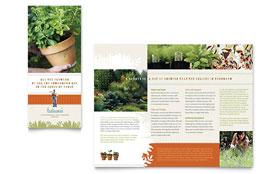 Landscape Garden Store Flyer Ad Template Design