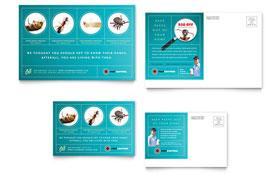 pest control services brochure template design. Black Bedroom Furniture Sets. Home Design Ideas