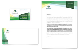 Landscaper - Business Card & Letterhead Design Template