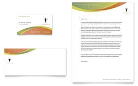 Massage chiropractic brochure template design for Chiropractic brochures template