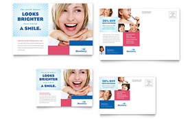 Business Marketing Postcard Templates