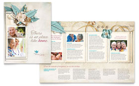 Hospice & Home Care - QuarkXPress Brochure Template