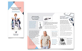 Home Medical Equipment - Tri Fold Brochure Template