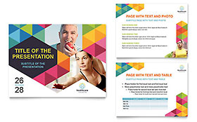 Health Fair - PowerPoint Presentation Design Template