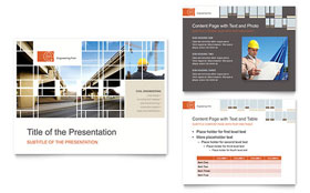 Civil Engineers - Microsoft PowerPoint Template