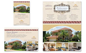 Luxury Real Estate - Print Ad Sample Template