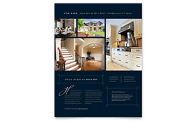 Luxury Home Real Estate - Flyer Design Template