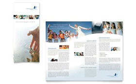 Christian Ministry - Tri Fold Brochure Template