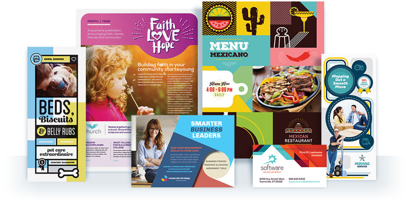 StockLayouts | Graphic Design Templates - Brochures - Flyers