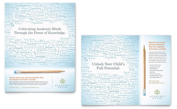 academic poster size
