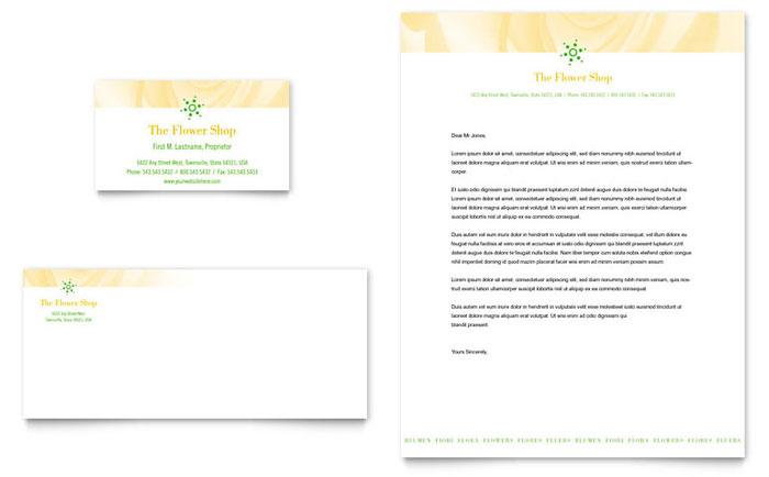 Florist shop business card letterhead template design thecheapjerseys Images