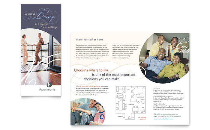 apartment brochure design. Apartment Brochure Design C