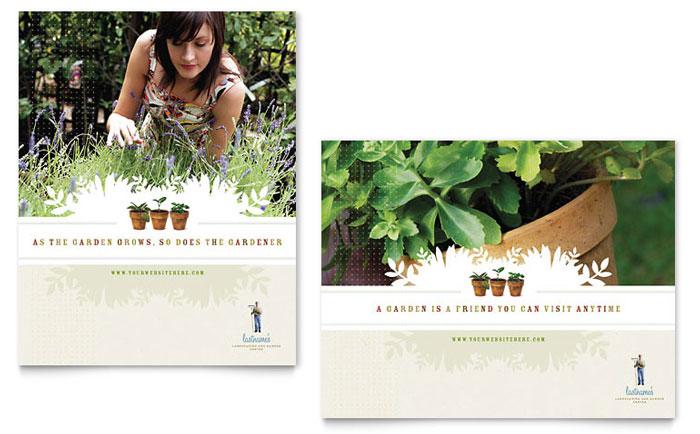 Poster Sample - Garden Store