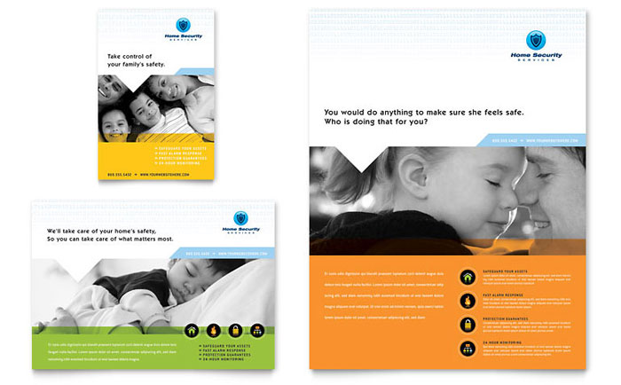 insurance advertising template design  Insurance Print Ads | Templates