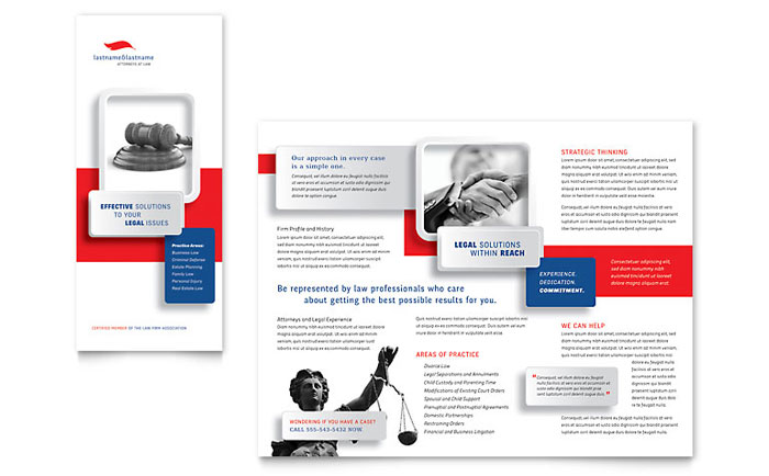 Brochure Sample - Justice Legal Services