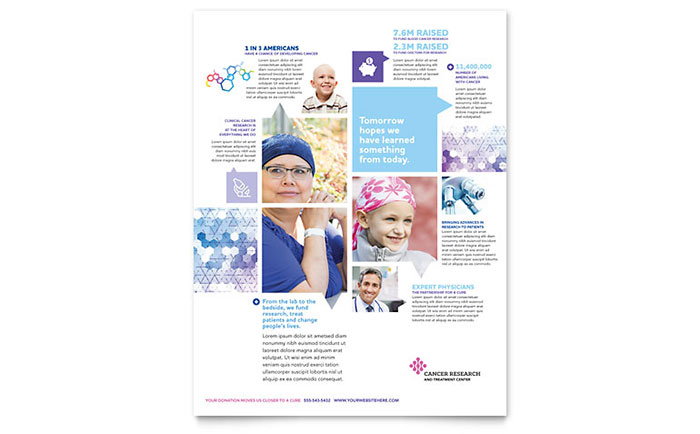 Medical Health Care Flyers Templates Design Examples