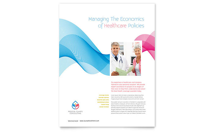 Medical Health Care Flyers – Hospital Flyer Template