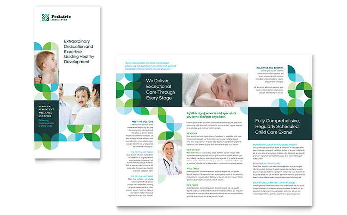 StockLayouts  Microsoft Trifold Template