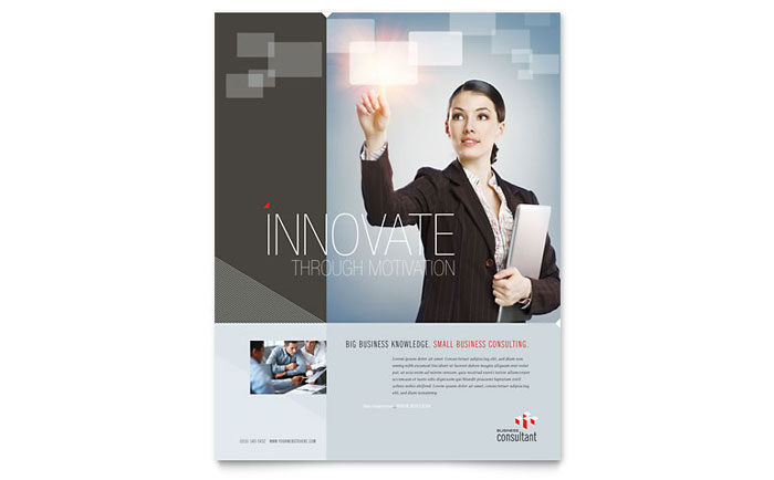 Corporate business flyer template design flashek Image collections