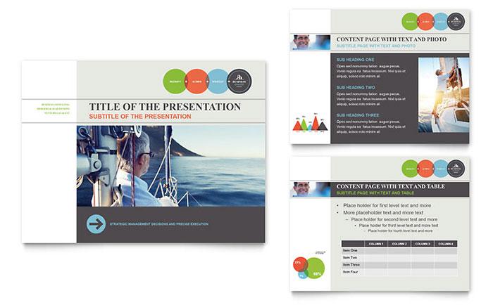business analyst powerpoint presentation template design, Presentation templates