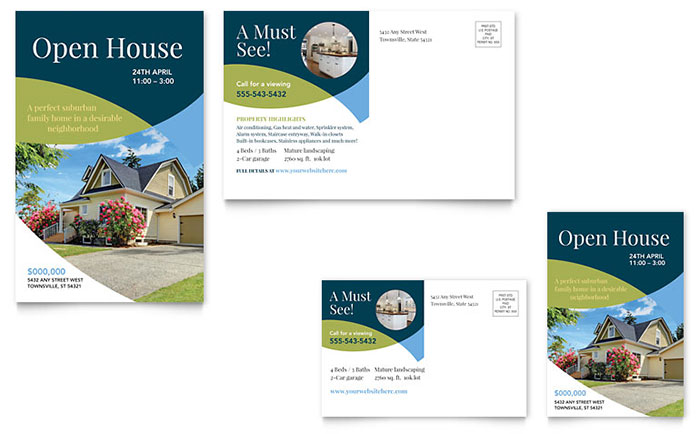 open house flyer examples