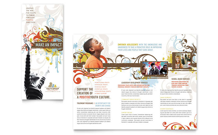 printable holiday brochures
