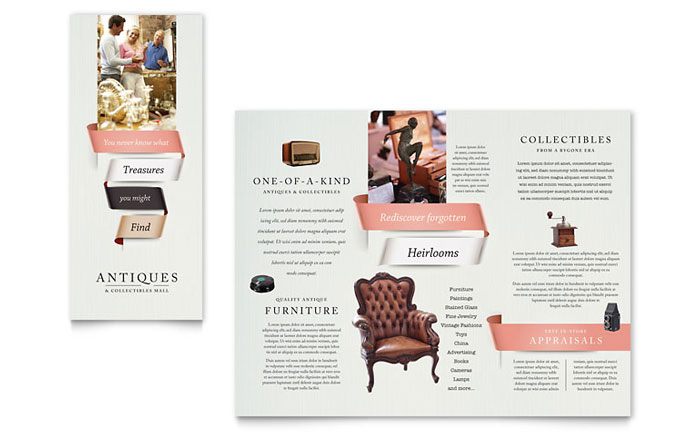 Retail Sales Brochures Templates Designs - Sales brochure template