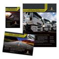 Trucking & Transport Flyer & Ad Design