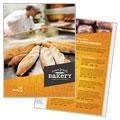 Artisan Bakery Menu Design