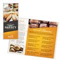 Artisan Bakery Take-Out Brochure Design