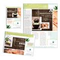 Natural Day Spa & Massage Flyer & Ad Design