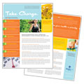 Weight Loss Clinic Datasheet Design