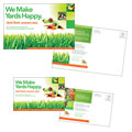 Lawn Maintenance Service Postcard Design