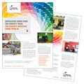 House Painting Contractor Datasheet Designs